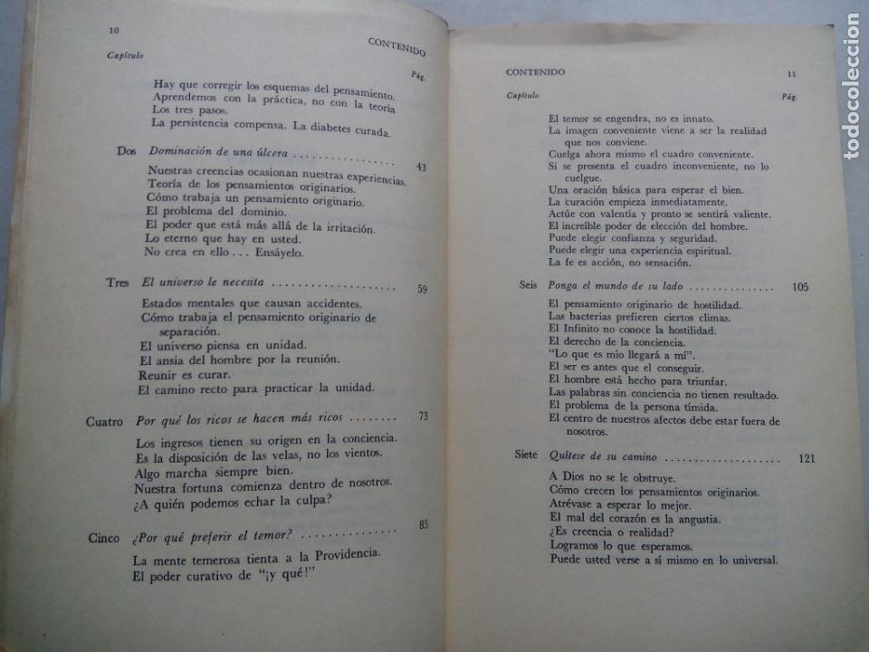 Libros de segunda mano: PODER OCULTO PARA PROBLEMAS HUMANOS. FREDERICK BAILES. EDITORIAL DIANA. MÉXICO 1979. - Foto 5 - 232024490