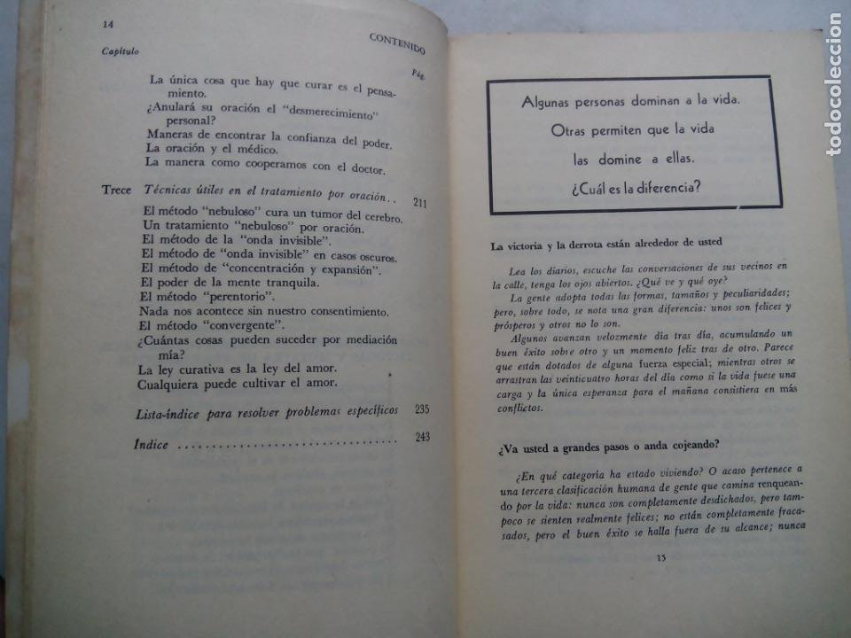 Libros de segunda mano: PODER OCULTO PARA PROBLEMAS HUMANOS. FREDERICK BAILES. EDITORIAL DIANA. MÉXICO 1979. - Foto 6 - 232024490