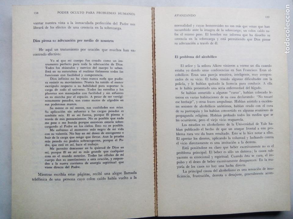 Libros de segunda mano: PODER OCULTO PARA PROBLEMAS HUMANOS. FREDERICK BAILES. EDITORIAL DIANA. MÉXICO 1979. - Foto 7 - 232024490