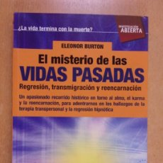 Livros em segunda mão: EL MISTERIO DE LAS VIDAS PASADAS / ELEONOR BURTON / 2010. NOWTILUS. Lote 232103515