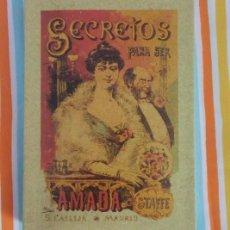 Libros de segunda mano: SECRETOS PARA SER AMADA (TAPA BLANDA) - 2009 - LIBRO REPRODUCCION DE EDICION ANTIGUA. Lote 192926887