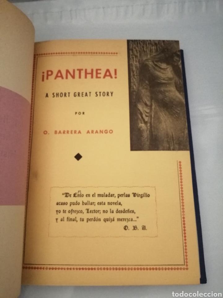 Libros de segunda mano: 4 Obras de Obdulio Barrera Arango: Absalón / Panthea / El Juramento / Trabajos y días perdidos - Foto 3 - 232286275