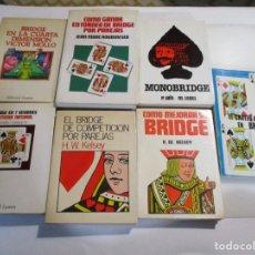 Libros de segunda mano: VV.AA LOTE LIBROS SOBRE BRIDGE W4918. Lote 232409410