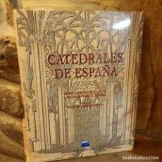 Libros de segunda mano: CATEDRALES DE ESPAÑA, PEDRO NAVASCUES-CARLOS SARTHOU, ARTE / ART, ESPASA CALPE, 1996. Lote 232736120