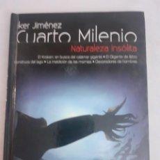Libros de segunda mano: DVD CON LIBRETO INCORPORADO DE IKER JIMENEZ NATURALEZA INSOLITA. Lote 232758165
