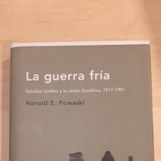 Libros de segunda mano: LA GUERRA FRIA. ESTADOS UNIDOS Y LA UNION SOVIETICA, 1917-1991. Lote 232868845