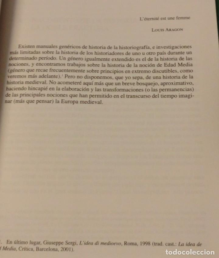 Libros de segunda mano: EL FUTURO DE UN PASADO. LA EDAD MEDIA EN EL SIGLO XXI - ALAIN GUERREAU (COMO NUEVO)[DESCATALOGADO] - Foto 8 - 232917985