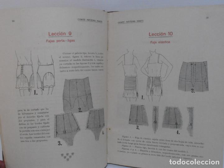 Libros de segunda mano: LIBRO CORTE SISTEMA MARTI, CORSES PARA SEÑORAS Y NIÑAS, CARMEN MARTI DE MISSE, 3ª ED BARCELONA 1934 - Foto 5 - 232989010
