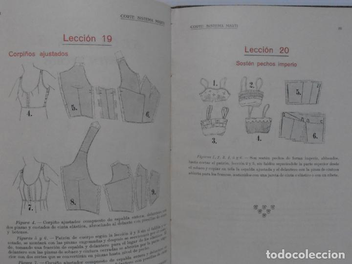 Libros de segunda mano: LIBRO CORTE SISTEMA MARTI, CORSES PARA SEÑORAS Y NIÑAS, CARMEN MARTI DE MISSE, 3ª ED BARCELONA 1934 - Foto 6 - 232989010