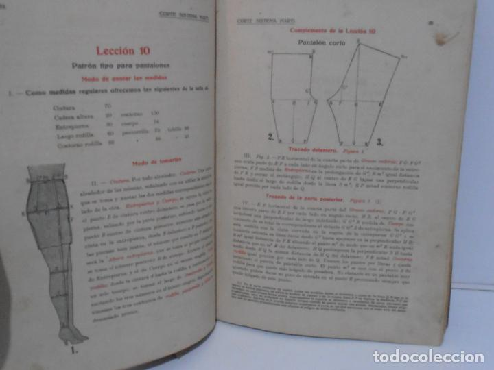 Libros de segunda mano: LIBRO CORTE SISTEMA MARTI, LENCERIA, CARMEN MARTI DE MISSE, CUADRAGESIMA ED BARCELONA 1936 - Foto 5 - 232989517