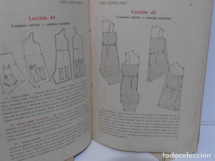 Libros de segunda mano: LIBRO CORTE SISTEMA MARTI, LENCERIA, CARMEN MARTI DE MISSE, CUADRAGESIMA ED BARCELONA 1936 - Foto 6 - 232989517