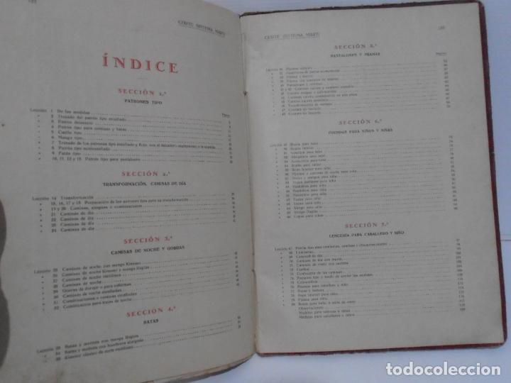 Libros de segunda mano: LIBRO CORTE SISTEMA MARTI, LENCERIA, CARMEN MARTI DE MISSE, CUADRAGESIMA ED BARCELONA 1936 - Foto 8 - 232989517