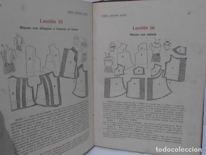 Libros de segunda mano: LIBRO CORTE SISTEMA MARTI, MODISTERIA, CARMEN MARTI DE MISSE, CUADRAGESIMA EDICION BARCELONA 1936 - Foto 5 - 232990025
