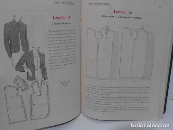 Libros de segunda mano: LIBRO CORTE SISTEMA MARTI, SASTRERIA, CARMEN MARTI DE MISSE, SEXAGESIMA EDICION BARCELONA 1940 - Foto 5 - 232990452