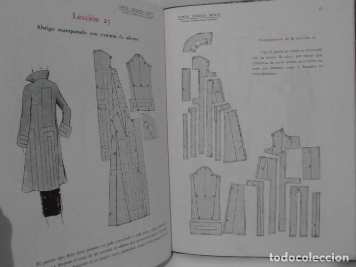 Libros de segunda mano: LIBRO CORTE SISTEMA MARTI, SASTRERIA, CARMEN MARTI DE MISSE, OCTOGESIMA TERCERA ED BARCELONA 1964 - Foto 5 - 232990925