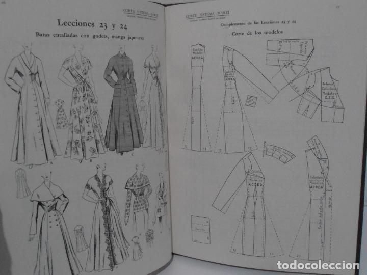 Libros de segunda mano: LIBRO CORTE SISTEMA MARTI, LENCERIA, CARMEN MARTI DE MISSE, NONAGESIMA TERCERA ED BARCELONA 1965 - Foto 4 - 232991180