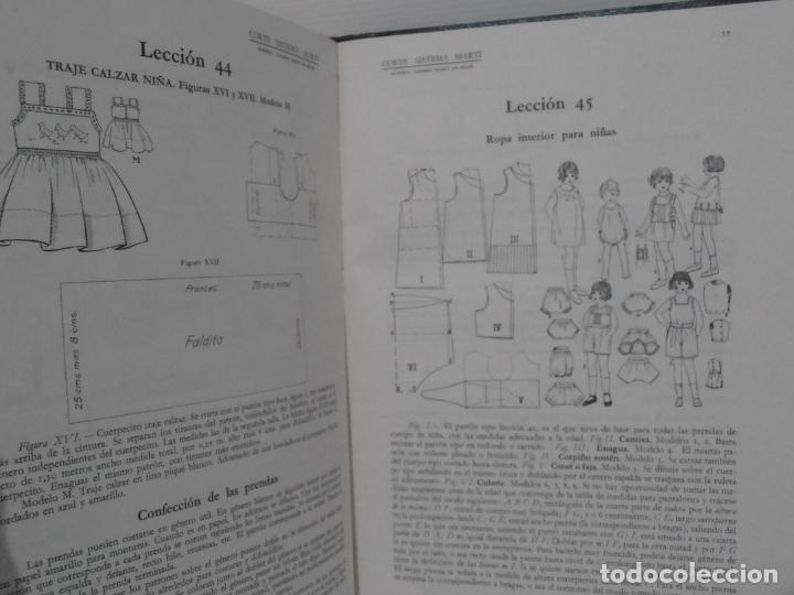 Libros de segunda mano: LIBRO CORTE SISTEMA MARTI, LENCERIA, CARMEN MARTI DE MISSE, NONAGESIMA TERCERA ED BARCELONA 1965 - Foto 5 - 232991180