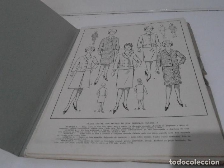 Libros de segunda mano: LIBRO PATRONES GRADUABLES, MARTI ALTA COSTURA, 1965 1966 - Foto 3 - 232994883
