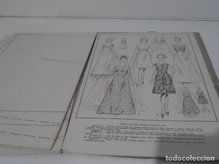 Libros de segunda mano: LIBRO PATRONES GRADUABLES, MARTI ALTA COSTURA, 1965 1966 - Foto 5 - 232994883