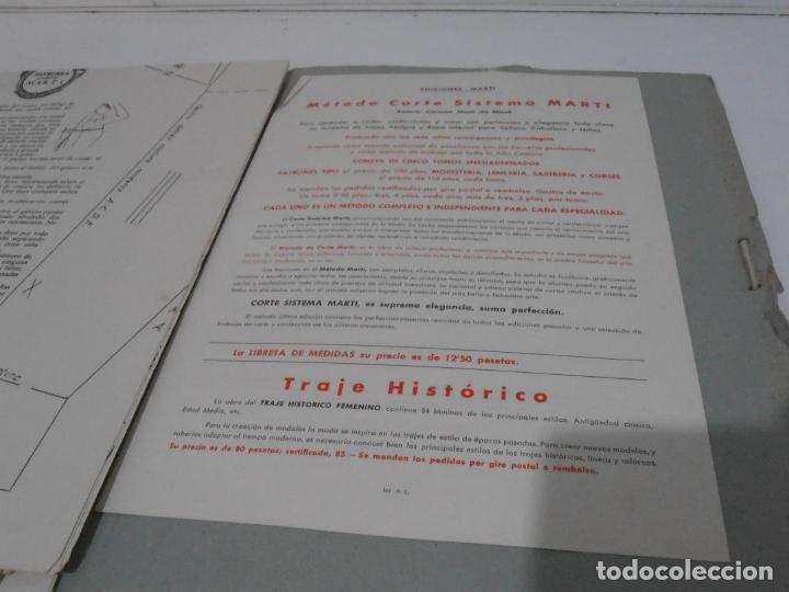 Libros de segunda mano: LIBRO PATRONES GRADUABLES, MARTI ALTA COSTURA, 1965 1966 - Foto 6 - 232994883