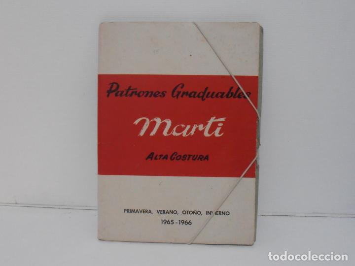 LIBRO PATRONES GRADUABLES, MARTI ALTA COSTURA, 1965 1966 (Libros de Segunda Mano - Ciencias, Manuales y Oficios - Otros)