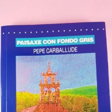 Libros de segunda mano: LIBRO-PAISAJE CON FONDO GRIS-PEPE CARBALLUDE-COSTA OESTE-2001-BUEN ESTADO-GALLEGO.. Lote 233016585