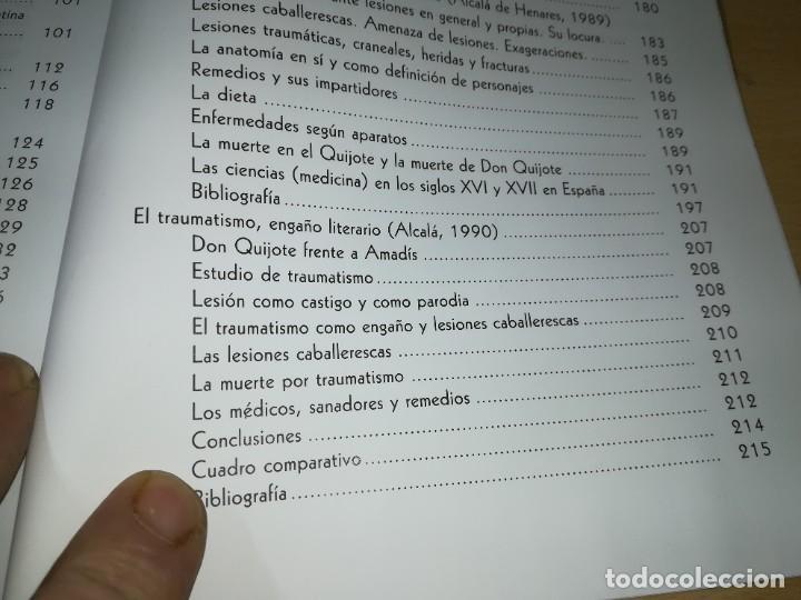 Libros de segunda mano: CERVANTOFOBIA Y CERVANTOFILIA / SALUD, ENFERMEDAD Y MUERTE CERVANTES / ISAIAS MORAGA / AE405 - Foto 15 - 233017985