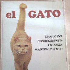 Libros de segunda mano: OCASIÓN LIBRO BLUME/ EL GATO / EVOLUCIÓN/CONOCIMIENTO/CRIANZA/MANTENIMIENTO/MUCHAS IMÁGENES A COLOR. Lote 233072975