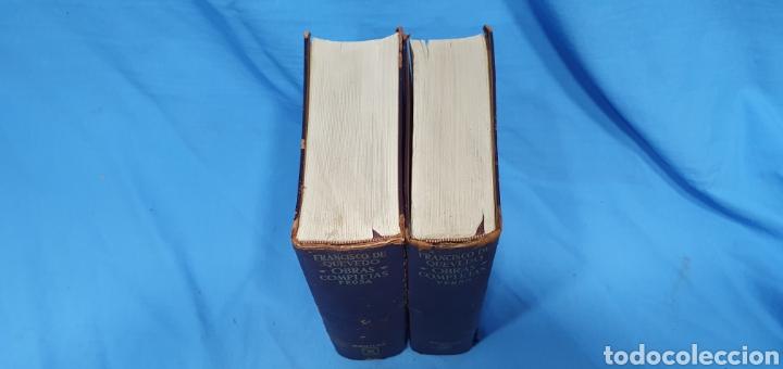 Libros de segunda mano: OBRAS COMPLETAS DE FRANCISCO DE QUEVEDO - VERSO/PROSA 1964/66 - AGUILAR - Foto 2 - 271786158
