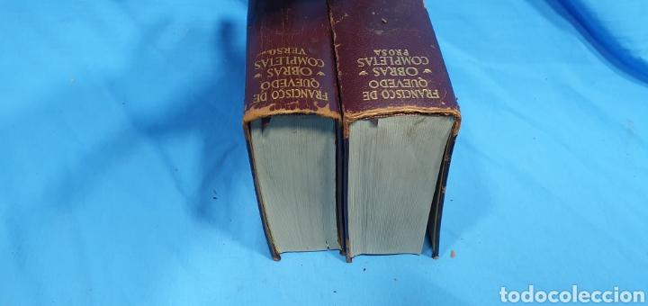 Libros de segunda mano: OBRAS COMPLETAS DE FRANCISCO DE QUEVEDO - VERSO/PROSA 1964/66 - AGUILAR - Foto 5 - 271786158