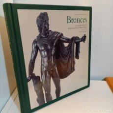 Libros de segunda mano: BRONCES EN LA COLECCION DEL PATRIMONIO NACIONAL, MARIA JESUS HERRERO SANZ, ARTE / ART, 2008. Lote 233133010