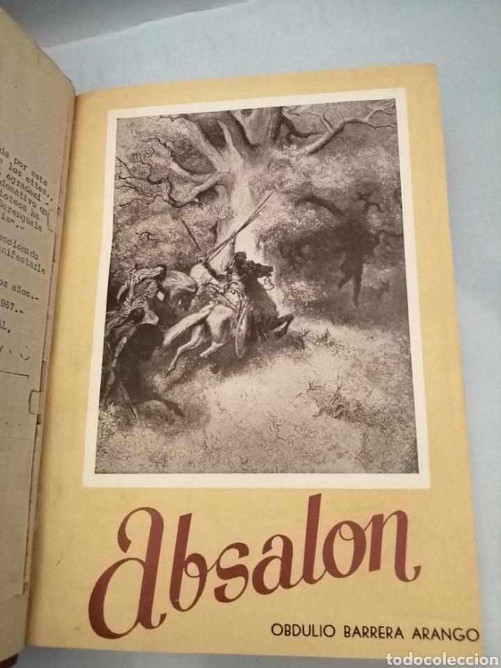 Libros de segunda mano: Obdulio Barrera: Absalón / Santa Juana / El Juramento / Los Siete Infantes de Lara / Panthea - Foto 2 - 233083570