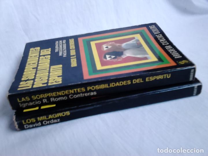 Libros de segunda mano: Los milagros (David Ordaz) + Las sorprendentes posibilidades del espíritu (Ignacio R. Romo) - Foto 4 - 233203300