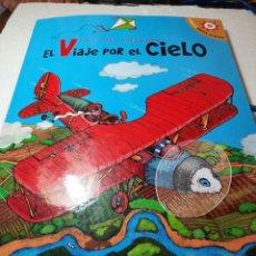 Libros de segunda mano: BONITO LIBRO JUGUETE POP-UP VIAJE POR EL CIELO.. Lote 233372720