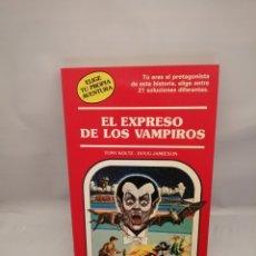Libri di seconda mano: ELIGE TU PROPIA AVENTURA NUM. 17: EL EXPRESO DE LOS VAMPIROS. Lote 233227860