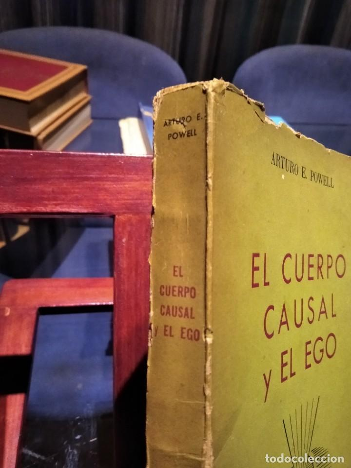 Libros de segunda mano: EL CUERPO CAUSAL Y EL EGO-ARTURO E. POWELL-EDITORIAL KIER-1956-SUMAMENTE RARO - Foto 2 - 233424050