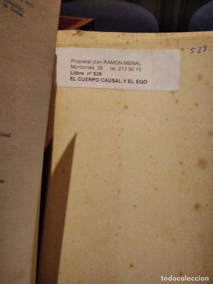 Libros de segunda mano: EL CUERPO CAUSAL Y EL EGO-ARTURO E. POWELL-EDITORIAL KIER-1956-SUMAMENTE RARO - Foto 4 - 233424050
