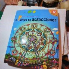 Libros de segunda mano: BONITO LIBRO JUGUETE POP-UP EL PARQUE DE ATRACCIONES. Lote 233494265
