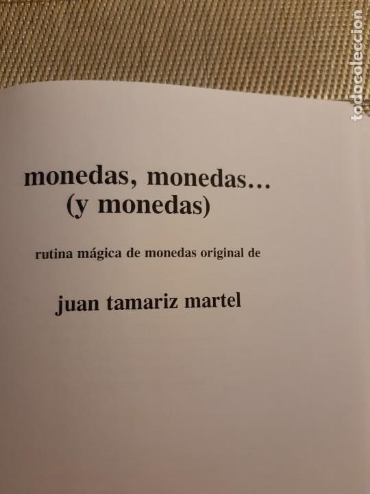 Libros de segunda mano: Monedas, monedas, y monedas juan tamariz - Foto 5 - 233602150