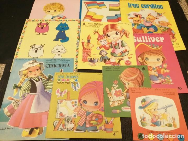LOTE CUADERNOS PARA COLOREAR - EDITORIAL ROMA (10 UNIDADES) (Libros de Segunda Mano - Literatura Infantil y Juvenil - Otros)