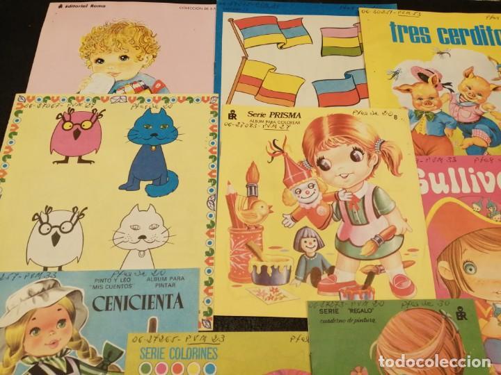 Libros de segunda mano: Lote cuadernos para colorear - Editorial Roma (10 unidades) - Foto 2 - 233773335