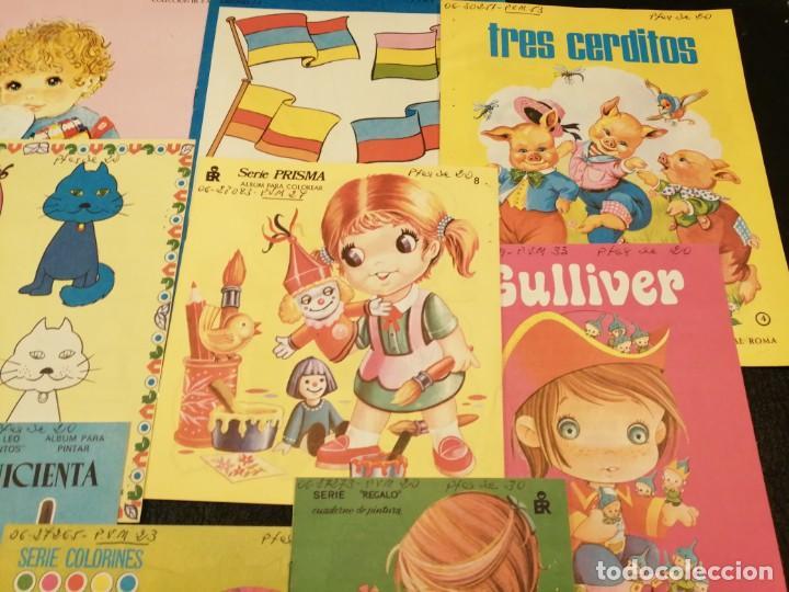 Libros de segunda mano: Lote cuadernos para colorear - Editorial Roma (10 unidades) - Foto 3 - 233773335