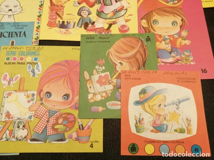 Libros de segunda mano: Lote cuadernos para colorear - Editorial Roma (10 unidades) - Foto 4 - 233773335