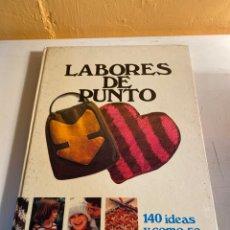 Libros de segunda mano: LABORES DE PUNTO. Lote 233777460