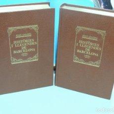 Libros de segunda mano: HISTÒRIES I LLEGENDES DE BARCELONA.PASSEJADA PELS CARRERS DE LA CIUTAT VELLA.- JOAN AMADES. Lote 233807600