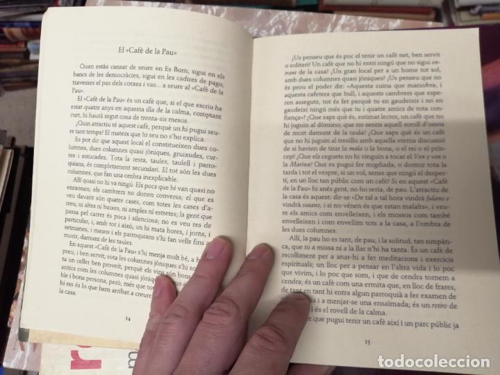 Libros de segunda mano: LILLA DE LA CALMA . SANTIAGO RUSIÑOL . LA FORADADA . J.J. DE OLAÑETA, EDITOR . 2001. MALLORCA . - Foto 5 - 233851640