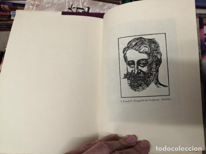 Libros de segunda mano: LILLA DE LA CALMA . SANTIAGO RUSIÑOL . LA FORADADA . J.J. DE OLAÑETA, EDITOR . 2001. MALLORCA . - Foto 9 - 233851640