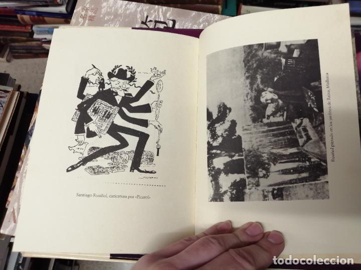 Libros de segunda mano: LILLA DE LA CALMA . SANTIAGO RUSIÑOL . LA FORADADA . J.J. DE OLAÑETA, EDITOR . 2001. MALLORCA . - Foto 10 - 233851640