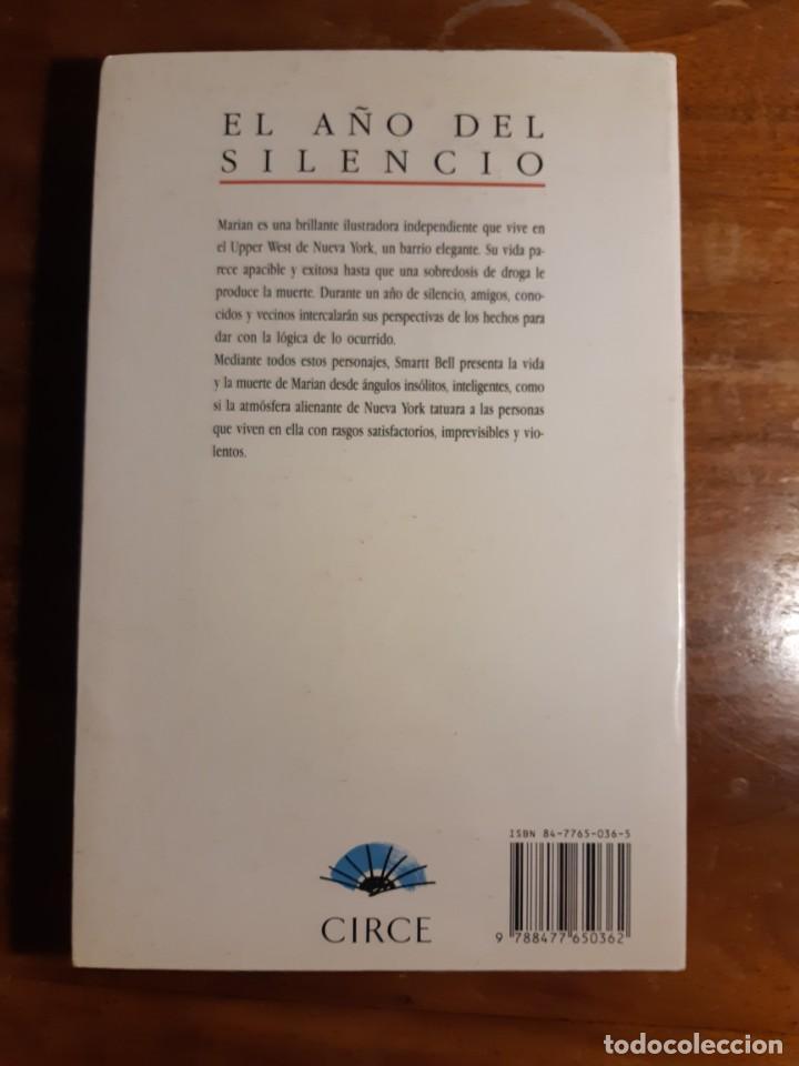 Libros de segunda mano: El año del silencio Madison Smart Bell - Foto 5 - 233946550