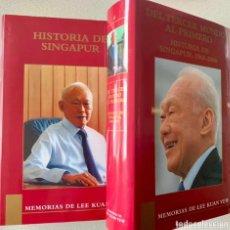 Libros de segunda mano: MEMORIAS DE LEE KUAN YEN - HISTORIAS DE SINGAPUR (COMPLETO, 2 TOMOS + CAJA ESTUCHE). Lote 233956060